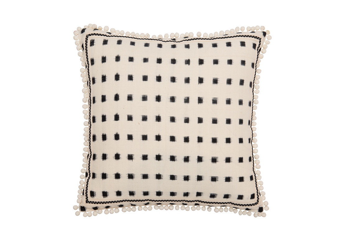 Arambol White Square Cushion