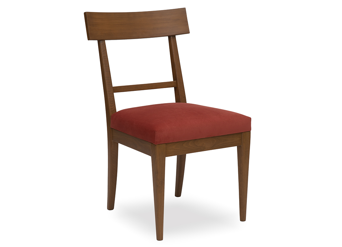 Athena Dining Chair Velvet Brick