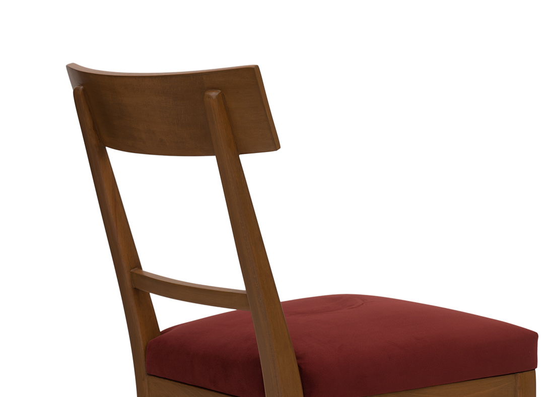 Athena Dining Chair Velvet Vino