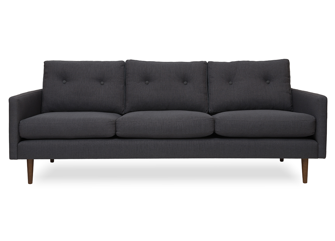 Betty 3-seater Sofa Anthracite