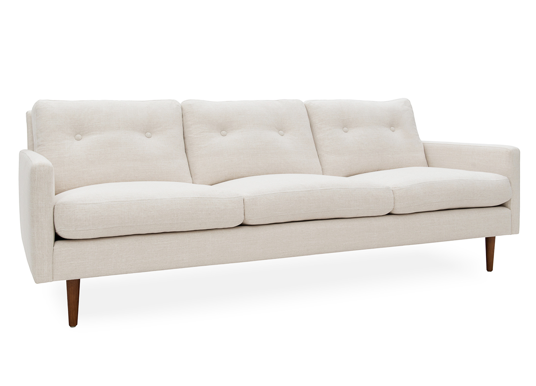 Betty 3-seater Sofa Natural
