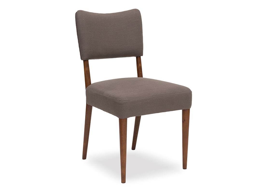 Bobo Dining Chair Saddle Expresso Brown