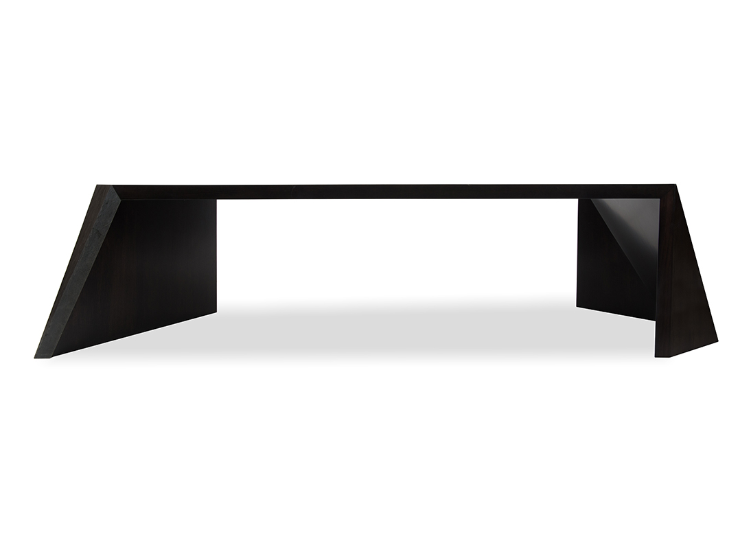 Braque Coffee Table Weathered Black