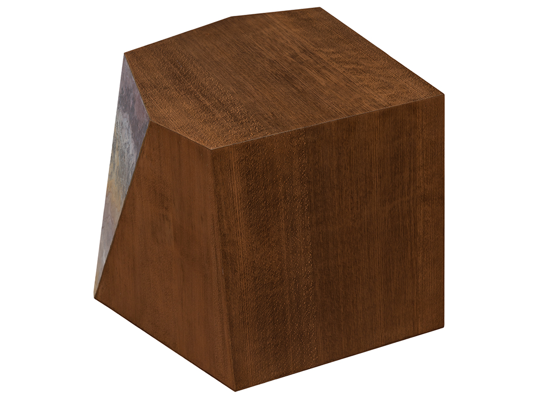 Braque Side Table Espresso Brown