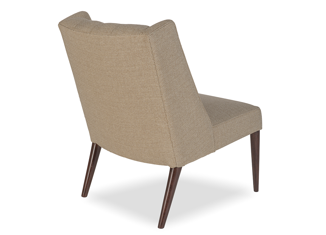 Draper Slipper Chair  Desert