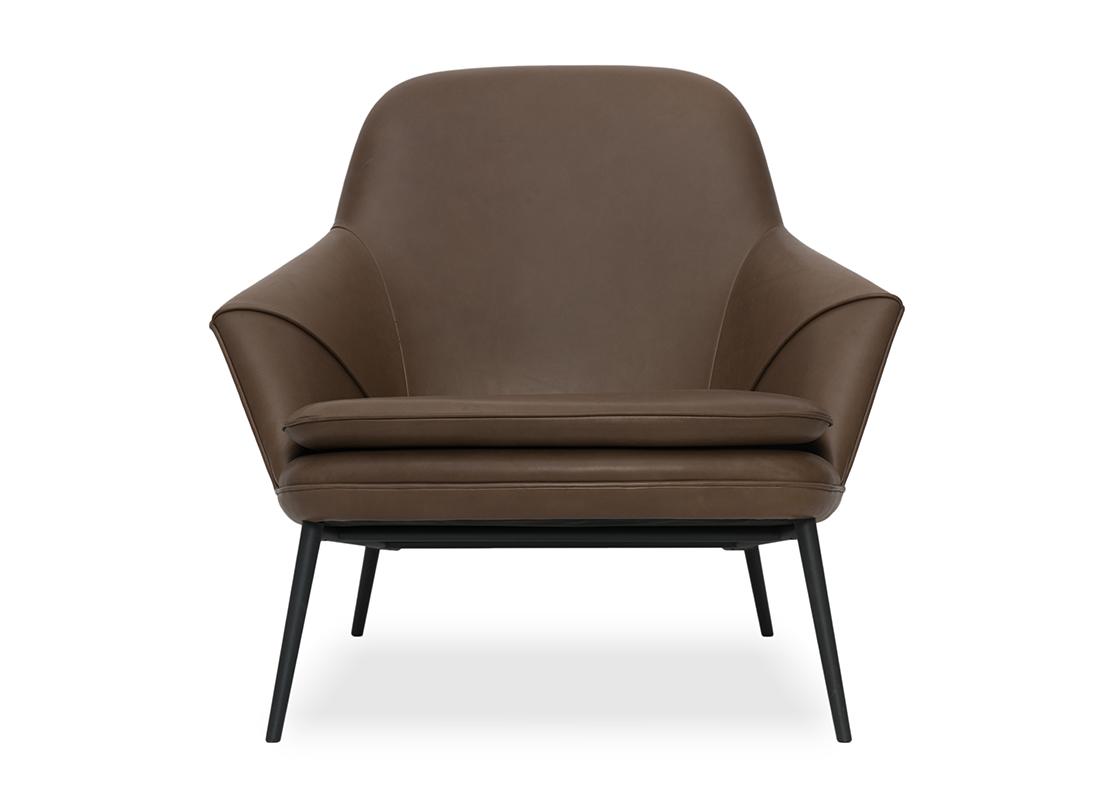 sc 1 st  Iqrup + Ritz & Hug Armchair Brown Leather