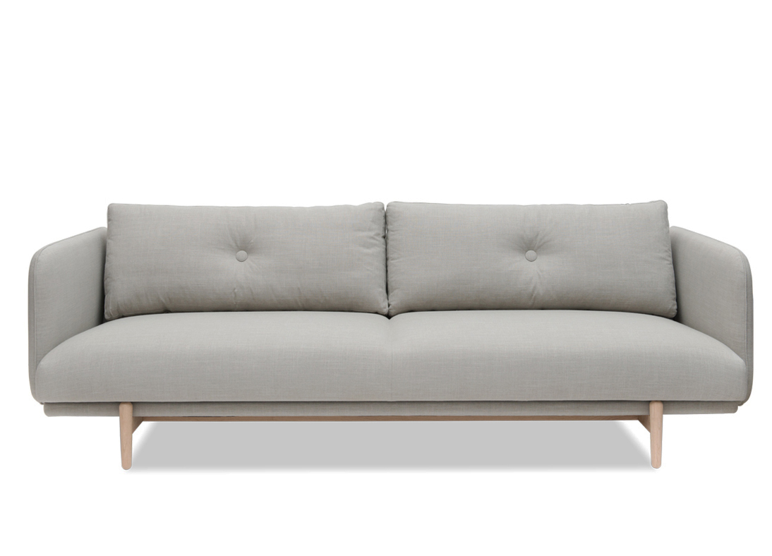 Lucas Large 3 Seater Sofa Blush