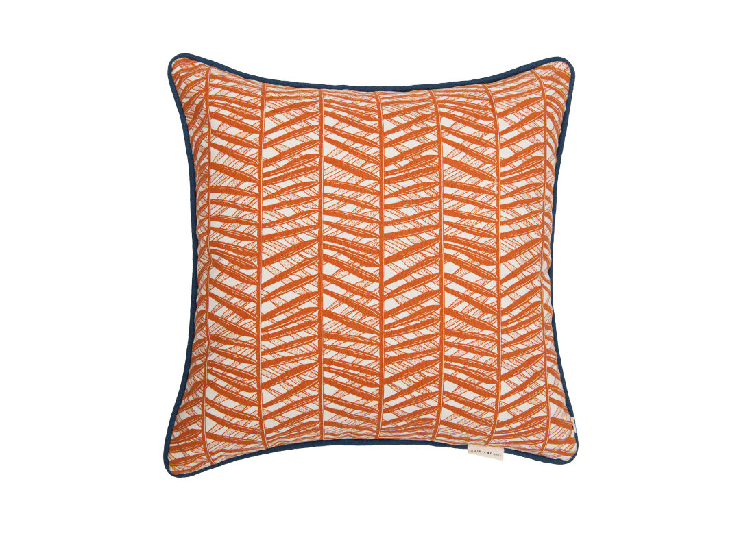 Coconut Palm Pickers Cushion