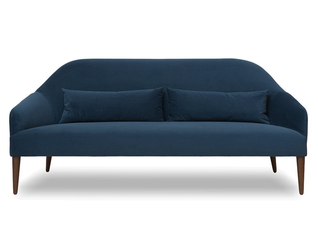 Rita 2.5 Seater Sofa Brick