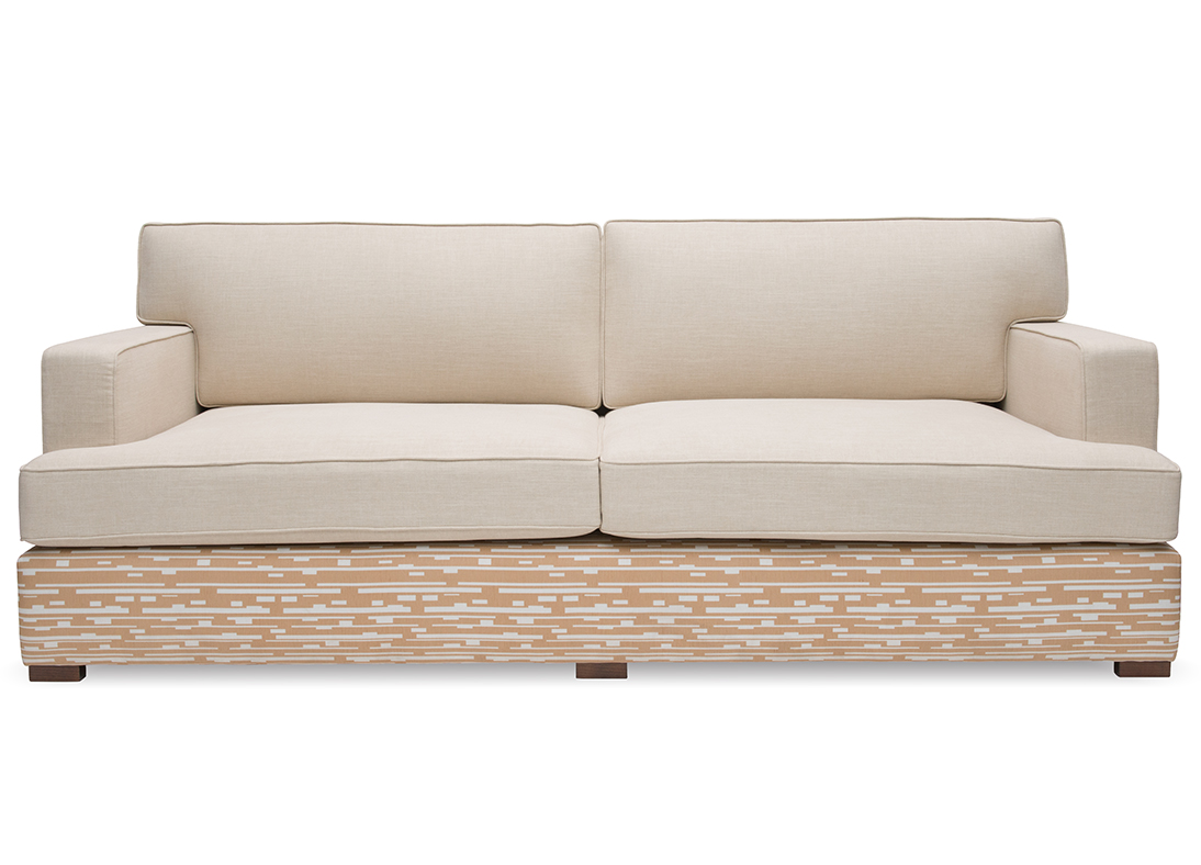 ANUBIS 3 SEATER SOFA STUDIO HAY WITH CONGO STRIPE