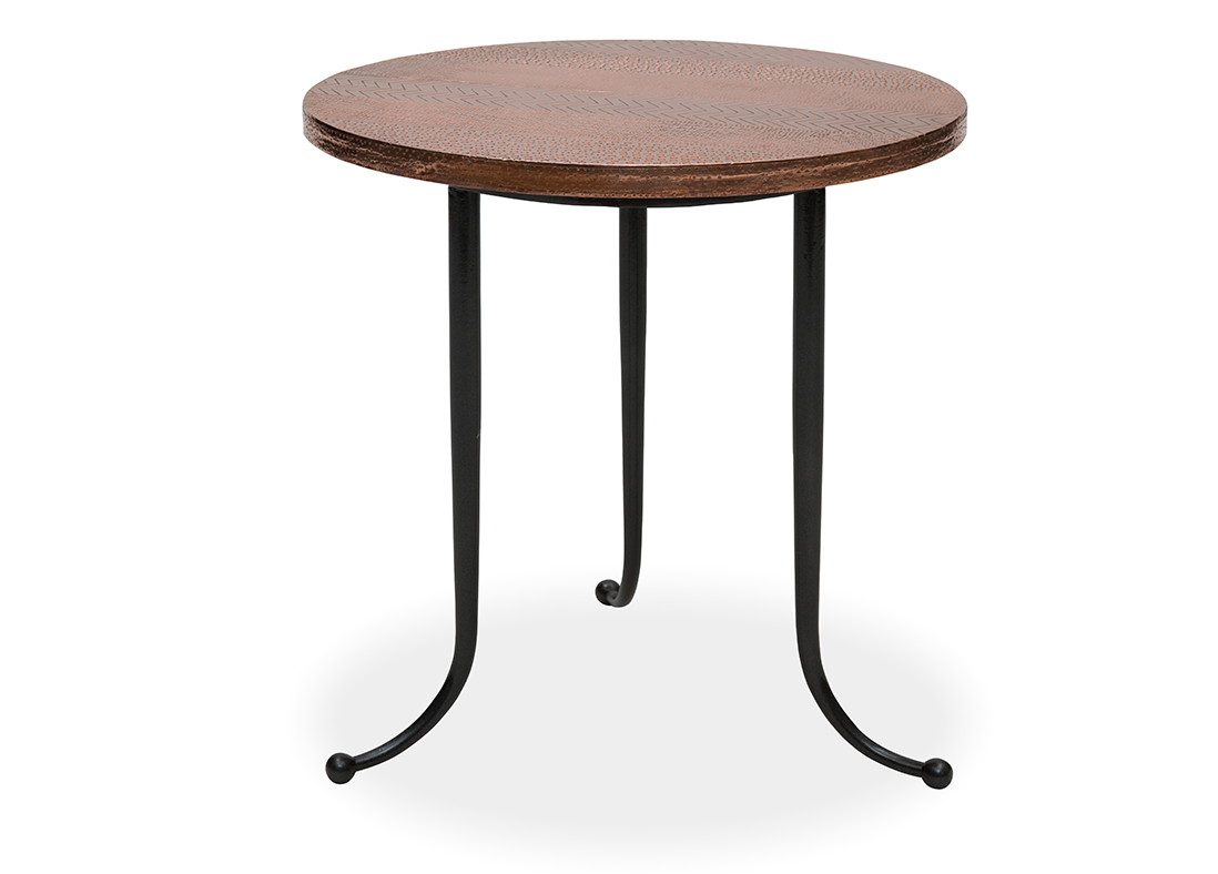 Calico Side Table - Bronze