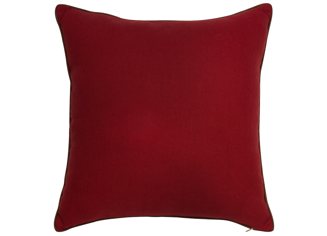Scala Sky Ruby Square Cushion