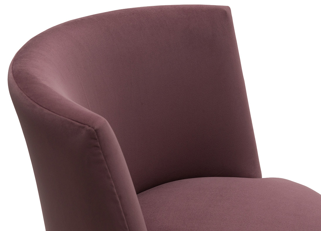 Coco Accent Chair Plum