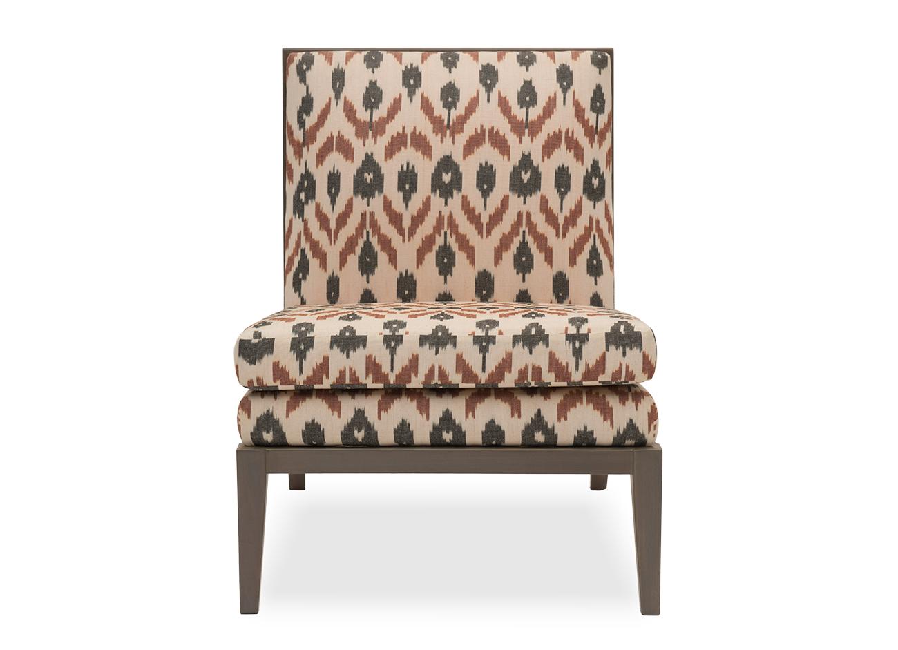 Madeleine Slipper Chair Cobblestone SafoMasi