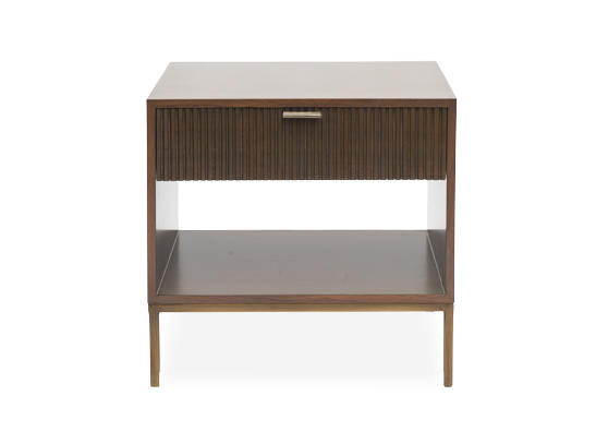 Mandarin Side Table Vintage Sisal