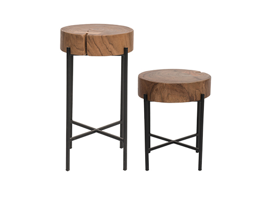 Mimosa Round Accent Tables