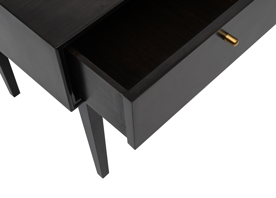 Noma Side Table Weathered Black