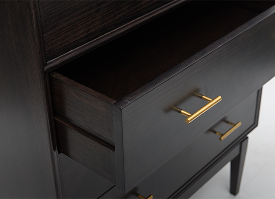 Noma Chest of Drawer Weathered Black