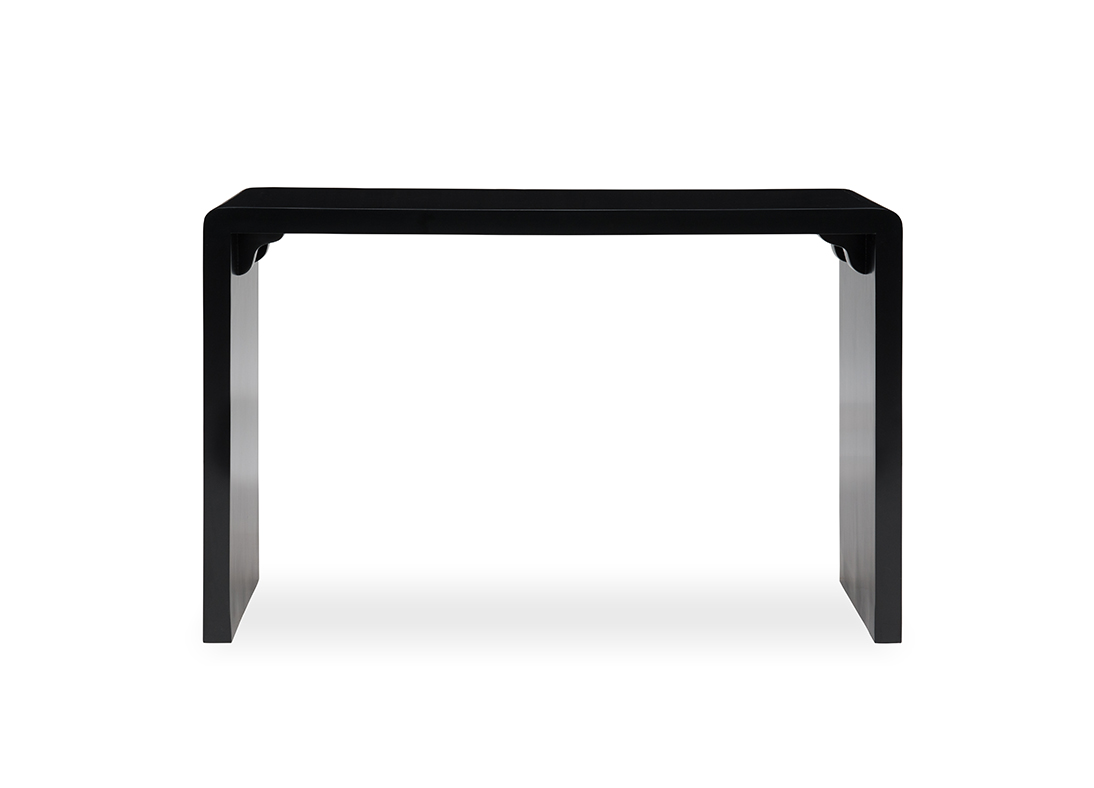 Braque Console Table Weathered Black