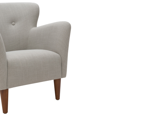 Peggy Armchair Stone Grey