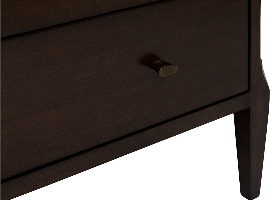 The Pierre Chest of Drawer Weathered Black