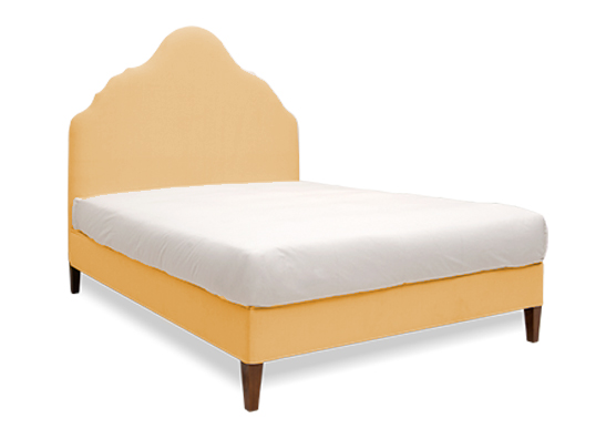 Rampur Queen Bed Gold
