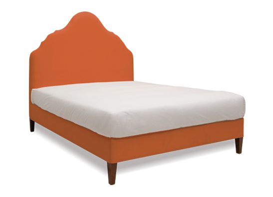 Rampur Queen Bed Rust