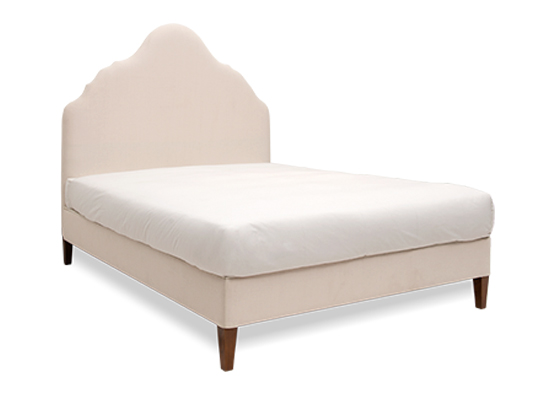 Rampur Queen Bed Sand