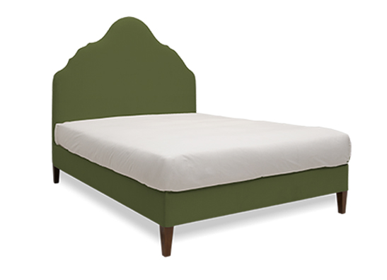 Rampur Queen Bed Spruce
