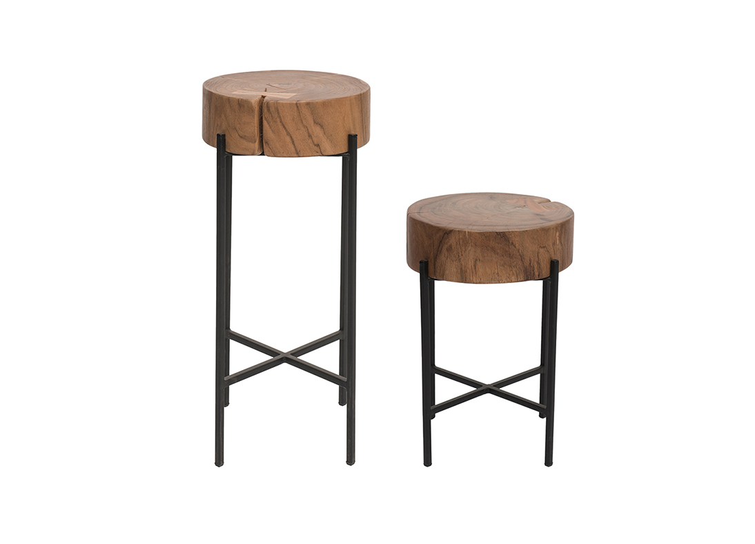 Drum Side Table Large