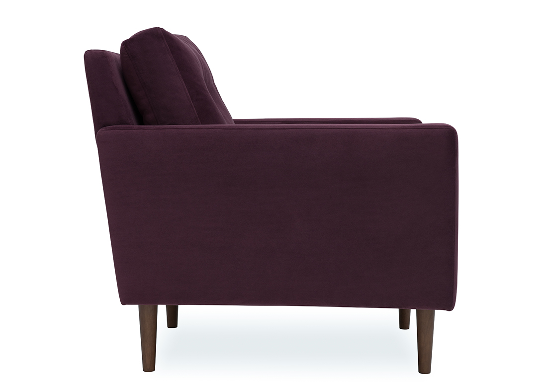 Betty Armchair Brinjal