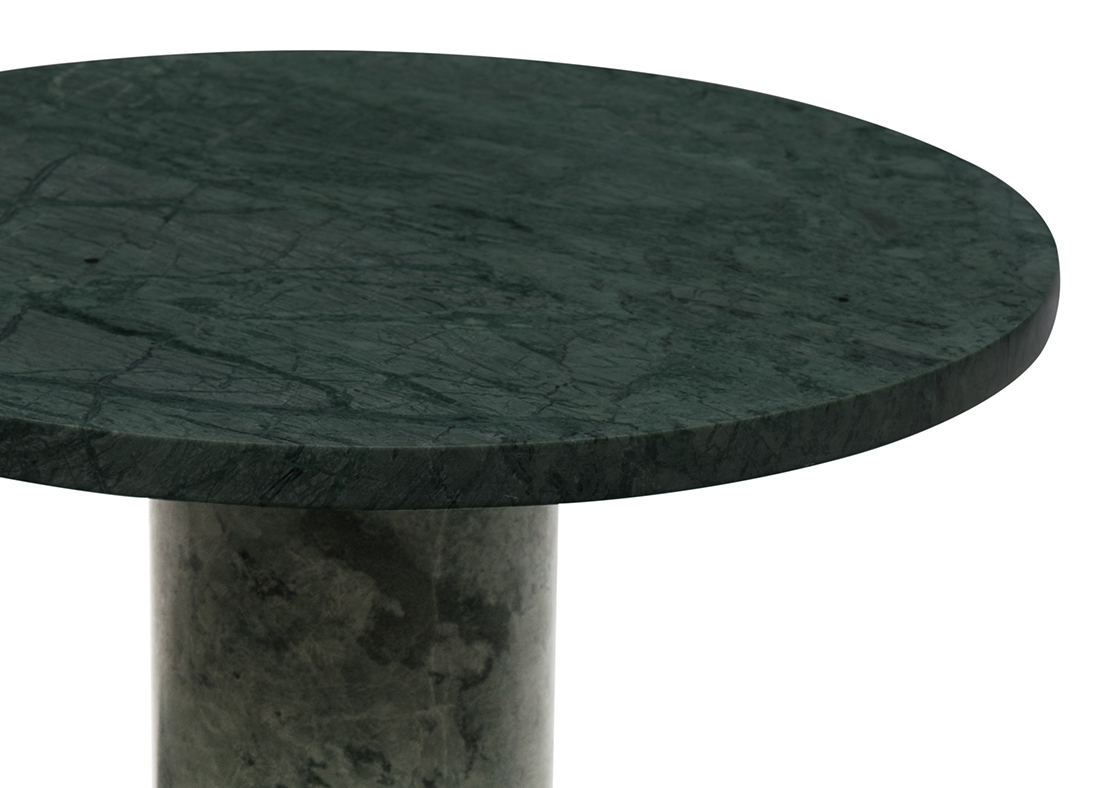 Marmo Side Table Emerald Green
