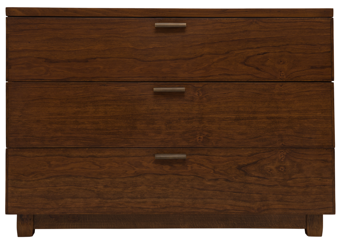 Plantation Bed Side Table Drawers American Cherry